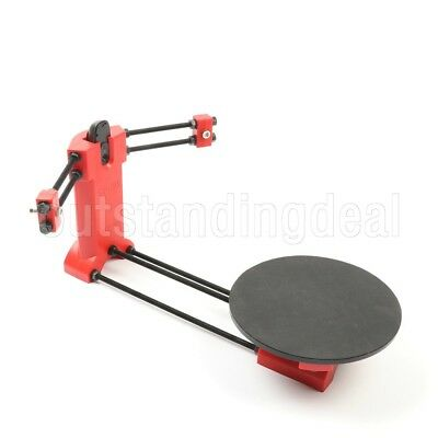 3D DIY Laser Scanner Plate Kit w/Adapter Object For Ciclop Printer os12