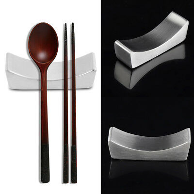 Stainless Steel Reusable Non-stick Chopstick Rest Rack Holder Home Mini Stand HG