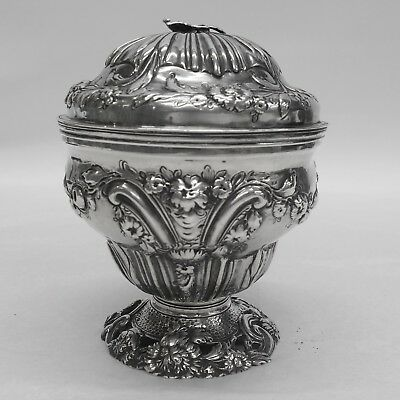 George III Silver Caddy  Made by SAMUEL TAYLOR London 1762 Stock ID 9297