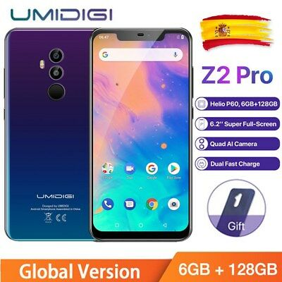 "6.2""UMIDIGI Z2 Pro 6GB+128GB Android 8.1 4G Smartphone FACE ID Móvil Libre 16MP"