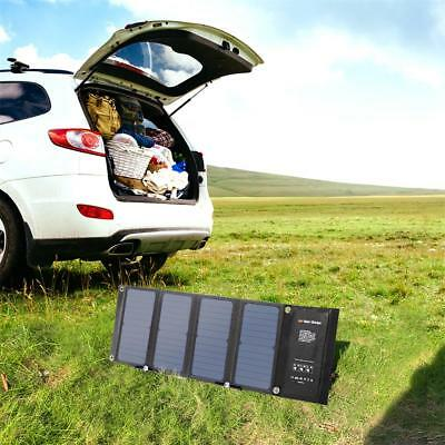 SUAOKI 28W Foldable Portable Solar Charger QC 3.0 Smart Quick Charge