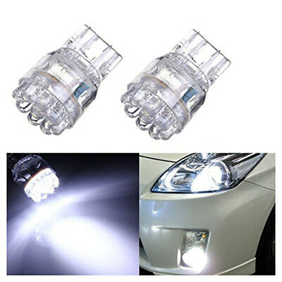 2Pcs Car White T20 7443 7440 9 LED Bulb Rear/Brake/Turn Signal Light Accessories