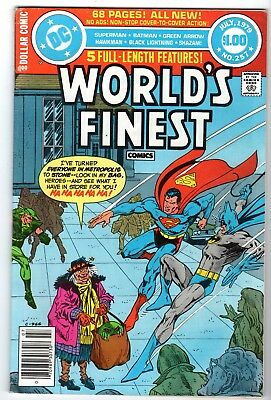 World's Finest #257 with Superman, Batman & Green Arrow - Fine Condition