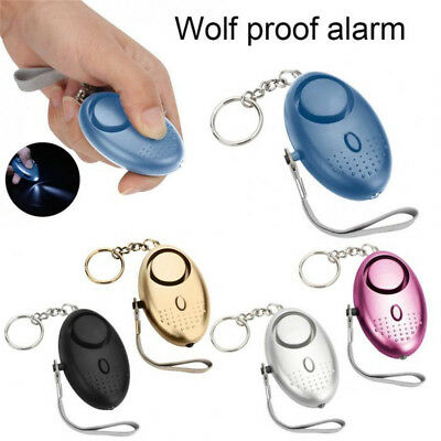Safety Key Chain Alarm  Security Alarm  Self Defense Device Personal Protection