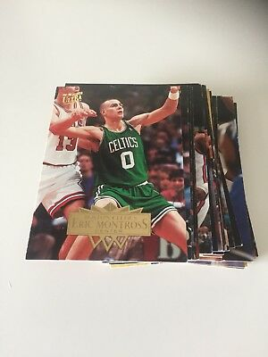 LOT 36 CARTES DE BASKET NBA Fleer Ultra 1995-1996 95-96 - Regular - No Double
