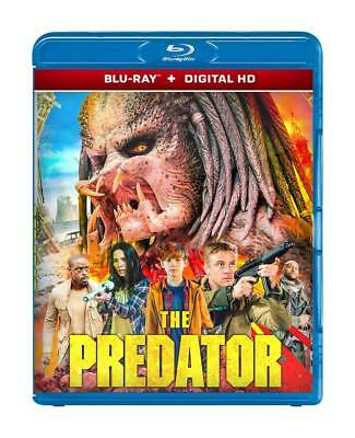 THE PREDATOR BLU-RAY Digital HD Thriller Science 2D Movie Disc - BRAND NEW 2018