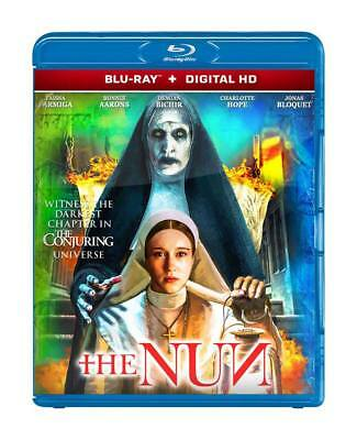 The Nun - Blu-Ray Digital Hd Disc - Creepiest Movie Ever - 2018 Brand New