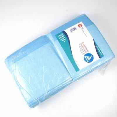 "50 Pack - Disposable Underpads, 23""x 36"" Adult Incontinence Bed Pad Pee Pet"