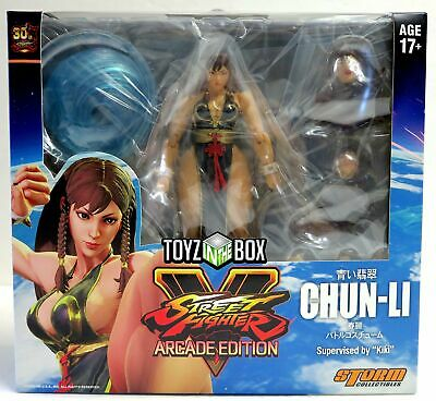 Storm Collectibles Street Fighter V Hot Chun-Li Battle Costume NYCC 2018 Figure