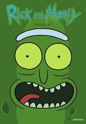 Rick and Morty: The Complete Third Season (DVD, 2018, 2-Disc Set) NEW, Sealed