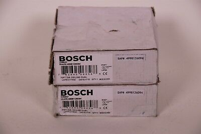 Lot of 2 Bosch DS9376 Panoramic Low Profile PIR Ceiling Motion Detector