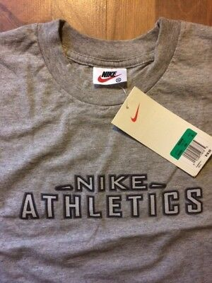 1ec9ac70df7a0b VINTAGE NIKE NOS T Shirt Athletics XL NWT 90 s Excellent Condition ...