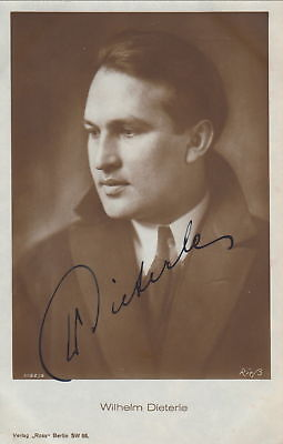 WILLIAM DIETERLE vintage signed photo   Famed Movie DIRECTOR   Very RARE   2