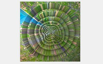 Aphex Twin Collapse Poster Print 20x20 24x24 Music Album Cover C-431