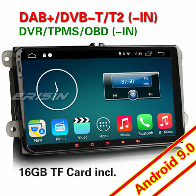 Android 8.1 Car Stereo For VW Caddy Golf Passat Jetta Tiguan EOS Skoda Seat Navi
