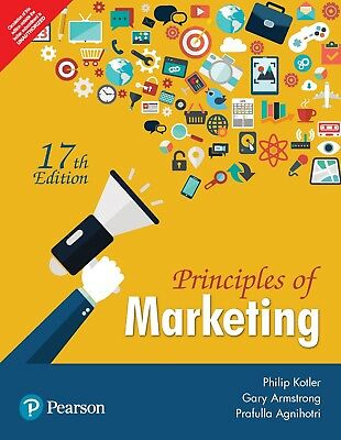 New.Principles of Marketing by Gary Armstrong and Philip T. Kotler 17th INTL ED