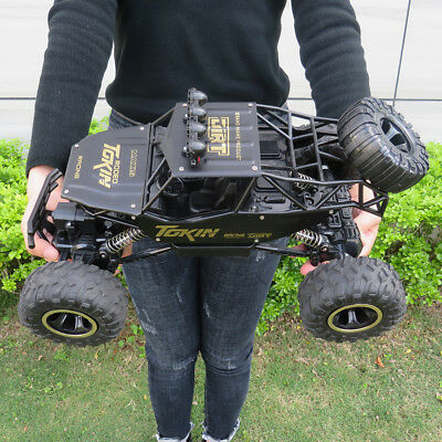 Monster Truck RC 1:12 4WD Rock Climbing Car Remote Control Drift RTR Toy Gift