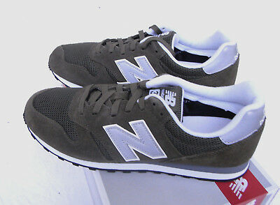 NEW BALANCE ML 373 OLV olivsilber grün Gr. 43 UK 9 neu WildlederTextil