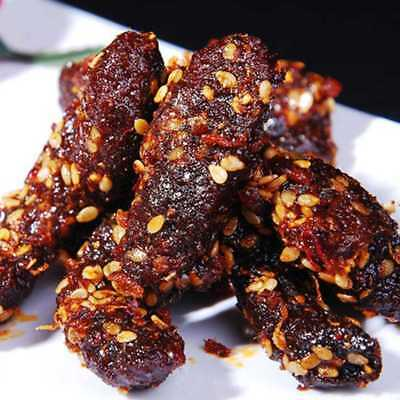 Spicy Hot beef jerky Stick 100g spicy barbecue casual snacks*`