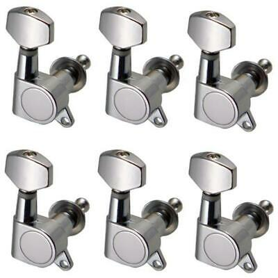 6pcs 6R Sealed Gear Tuning Pegs Machine Heads for Acoustic Electric Guitar