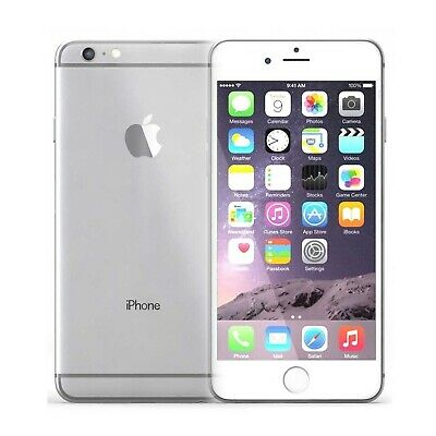 Movil Apple iPhone 6 A1586 16GB Libre Plata Sin Huella Digital | A
