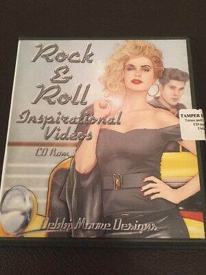 Debbie Moore Designs Cd Rom  Crafting Rock And Roll  Inspirational Videos