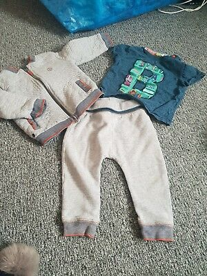12fd996da BABY BOYS TED baker 12-18 months Tracksuit - £10.00 | PicClick UK