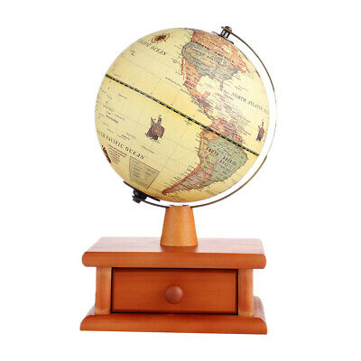 20cm Electric LED Light World Globe Earth Map Teach Education Geography Toy