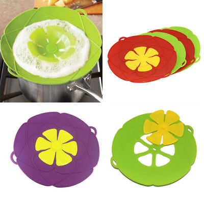 Silicone Anti Overflow Boil Pot Lid Spill Stopper Pan Cover Cooking Tool 2019New