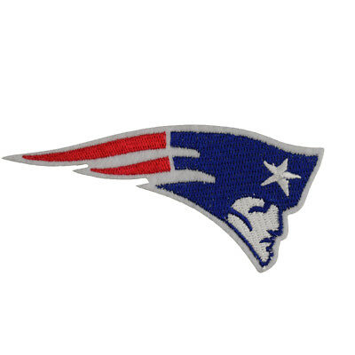 NFL New England Patriots Fan Badge DIY embroidered iron on patch cloth Sign