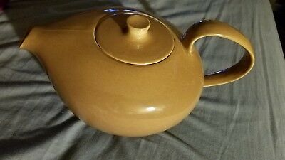 IROQUOIS Casual RUSSEL WRIGHT TEAPOT BROWN MID-CENTURY BROWN