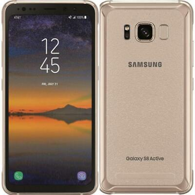 Samsung Galaxy S8 Active - G892 - Gold - Factory Unlocked; AT&T / T-Mobile