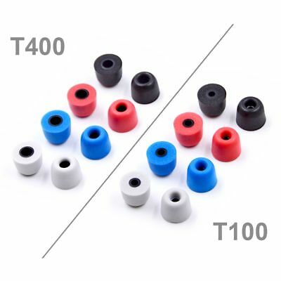 T100 T200 T300 T400 Earbuds Memory Foam Replacement Eartips For In-Ear Earphone
