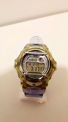 9caa1f5c94a CASIO WOMENS BABY-G Digital Wrist Watch Shock Resistant World Time ...