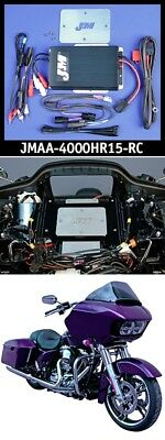 J&M JMAA-4000HR15-RC Performance Series 400w RMS 4-CH Amp Kit 15-19 Harley FLTR