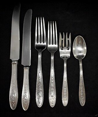 1  Wedgwood International Sterling Silver Setting 6 Pieces Per Setting