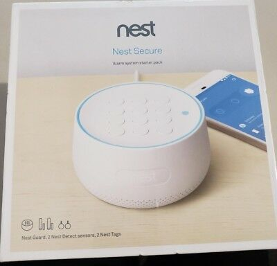 *NEW SEALED* Nest - Secure Alarm System - Starter Pack w/ Guard, Detect & Tag!