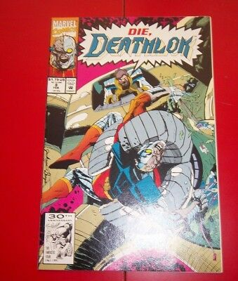 Deathlok  Volume 1 #8 Ultimate War Machine Excellent Condition - 1992