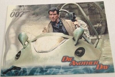 James Bond 007 , 2002 Die Another Day Promo Card P1
