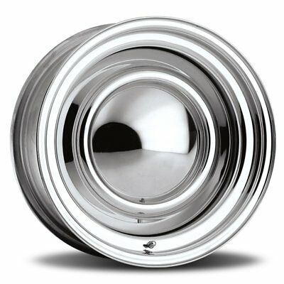"""15"""" Raceline chrome steel smoothie wheel 15x6 15x7 Suit Early Holden EH Hk 5/108"""