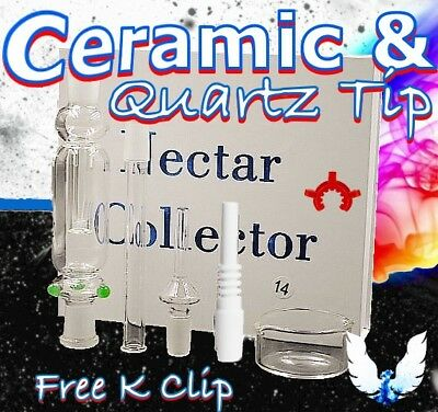 14mm Ceramic Tip Nectar Collector Kit