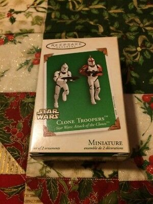 Hallmark 2003 Clone Troopers Star Wars Christmas Ornament -