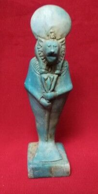 Ancient Egyptian Ushabti of God Sekhmet (1390–1352 BC)
