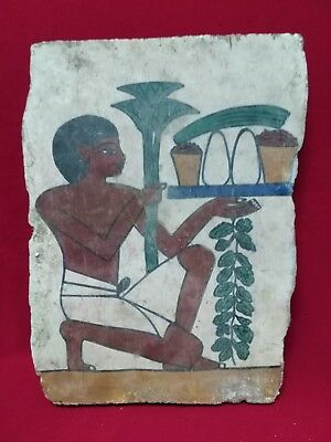 Ancient Egyptian rare Painting of Egyptian (2400–2100 BC)