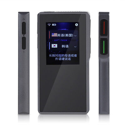 Portable Smart WIFI offline Two-way Real Time Translator 52 languages for MT6572