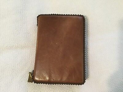 Genuine leather New World Translation Bible cover Jehovah's Witness Brown