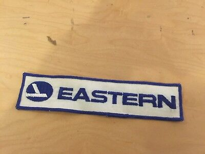 """eastern airlines, vintage, patch,70's new old stock,rectangle, 7.75""""x1.5"""""""