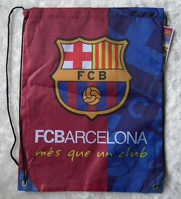 kiTki 44x33 cm Barcelona football soccer club backpack trainer bag equipment