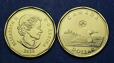 2020 CANADA First Strike 1$ Loonie - Brand New UNC