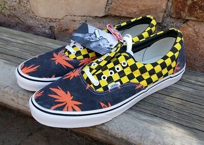 1f0ba6182c Vans Van Doren Era - Rare Orange Palms Yellow Checkers Men s 11.5 New In Box